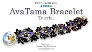 How to Bead Jewelry / Videos Sorted by Beads / Potomac Crystal Videos / AvaTama Bracelet Tutorial