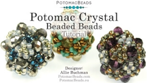 How to Bead Jewelry / Videos Sorted by Beads / Potomac Crystal Videos / Potomac Crystal Beaded Bead Tutorial