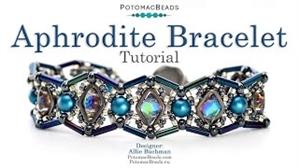How to Bead Jewelry / Videos Sorted by Beads / RounDuo® & RounDuo® Mini Bead Videos / Aphrodite Bracelet Tutorial