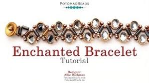 How to Bead Jewelry / Beading Tutorials & Jewel Making Videos / Bracelet Projects / Enchanted Bracelet Tutorial