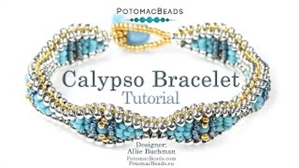 How to Bead / Videos Sorted by Beads / Potomac Crystal Videos / Calypso Bracelet Tutorial