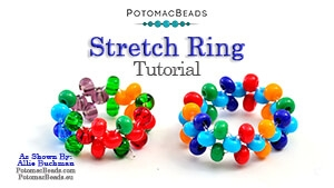 How to Bead Jewelry / Beading Tutorials & Jewel Making Videos / Stringing & Knotting Projects / Stretch Rings