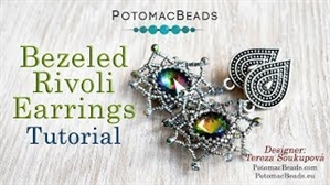 How to Bead Jewelry / Videos Sorted by Beads / Potomac Crystal Videos / Bezeled Rivoli Tutorial