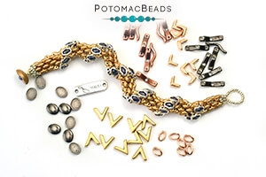 How to Bead Jewelry / Videos Sorted by Beads / Potomax Metal Bead Videos