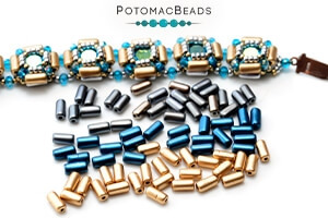 How to Bead Jewelry / Videos Sorted by Beads / Tubelet Bead Videos