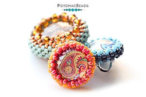How to Bead Jewelry / Videos Sorted by Beads / Cabochon Videos