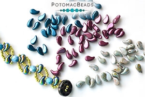 How to Bead Jewelry / Videos Sorted by Beads / ZoliDuo and Paisley Duo Bead Videos