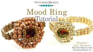 How to Bead / Videos Sorted by Beads / DiscDuo® Bead Videos / Mood Ring Tutorial