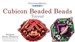 How to Bead Jewelry / Videos Sorted by Beads / RounTrio® & RounTrio® Faceted Bead Videos / Cubicon Beaded Bead Tutorial