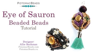 How to Bead Jewelry / Videos Sorted by Beads / StormDuo Bead Videos / Eye of Sauron Beaded Beads