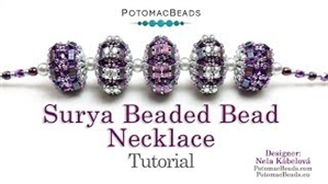 How to Bead Jewelry / Videos Sorted by Beads / SuperDuo & MiniDuo Videos / Surya Beaded Bead Necklace Tutorial