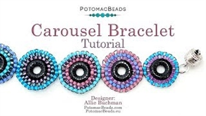 How to Bead Jewelry / Videos Sorted by Beads / All Other Bead Videos / Carousel Bracelet Tutorial
