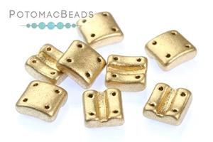 Czech Pressed Glass Beads / Fixer Beads / Fixer Beads - Vertical