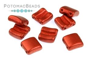 Czech Pressed Glass Beads / 3 Hole Beads / Fixer Beads