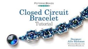 How to Bead Jewelry / Videos Sorted by Beads / RounDuo® & RounDuo® Mini Bead Videos / Closed Circuit Bracelet Tutorial