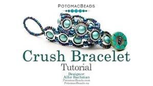 How to Bead Jewelry / Videos Sorted by Beads / RounDuo® & RounDuo® Mini Bead Videos / Crush Bracelet Tutorial