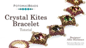 How to Bead Jewelry / Videos Sorted by Beads / Potomac Crystal Videos / Crystal Kites Bracelet Tutorial