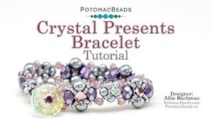 How to Bead Jewelry / Videos Sorted by Beads / All Other Bead Videos / Crystal Presents Bracelet Tutorial
