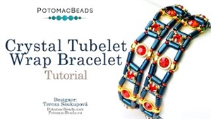 How to Bead / Videos Sorted by Beads / Tubelet Bead Videos / Crystal Tubelet Wrap Tutorial