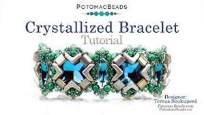 How to Bead Jewelry / Videos Sorted by Beads / RounDuo® & RounDuo® Mini Bead Videos / Crystallized Bracelet Tutorial