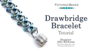 How to Bead / Videos Sorted by Beads / All Other Bead Videos / Drawbridge Bracelet Tutorial