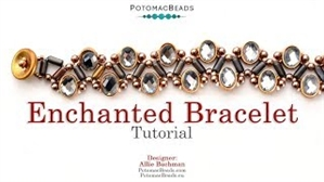 How to Bead Jewelry / Videos Sorted by Beads / Potomax Metal Bead Videos / Enchanted Bracelet Tutorial