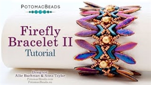 How to Bead Jewelry / Videos Sorted by Beads / EVA® Bead Videos / Firefly Bracelet II Tutorial