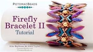 How to Bead / Videos Sorted by Beads / RounDuo® & RounDuo® Mini Bead Videos / Firefly Bracelet II Tutorial