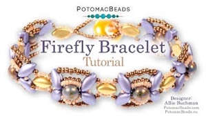 How to Bead Jewelry / Videos Sorted by Beads / IrisDuo® Bead Videos / Firefly Bracelet Tutorial