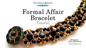 How to Bead / Videos Sorted by Beads / Potomac Crystal Videos / Formal Affair Bracelet Tutorial
