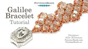 How to Bead / Videos Sorted by Beads / Potomac Crystal Videos / Galilee Bracelet Tutorial
