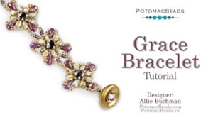 How to Bead Jewelry / Videos Sorted by Beads / All Other Bead Videos / Grace Bracelet Tutorial