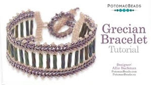 How to Bead Jewelry / Videos Sorted by Beads / All Other Bead Videos / Grecian Bracelet Tutorial