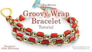 How to Bead Jewelry / Videos Sorted by Beads / All Other Bead Videos / Groovy Wrap Bracelet Tutorial