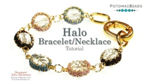 How to Bead / Videos Sorted by Beads / All Other Bead Videos / Halo Bracelet (Or Necklace) Tutorial