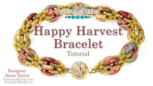 How to Bead / Videos Sorted by Beads / CzechMates Bead Videos / Happy Harvest Bracelet Tutorial