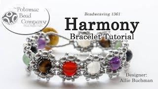 How to Bead / Videos Sorted by Beads / RounDuo® & RounDuo® Mini Bead Videos / Harmony Bracelet Tutorial