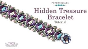 How to Bead / Videos Sorted by Beads / Potomac Crystal Videos / Hidden Treasure Bracelet Tutorial