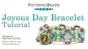 How to Bead / Videos Sorted by Beads / RounDuo® & RounDuo® Mini Bead Videos / Joyous Day Bracelet Tutorial