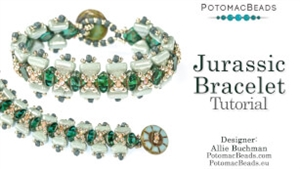 How to Bead Jewelry / Videos Sorted by Beads / All Other Bead Videos / Jurassic Bracelet Tutorial