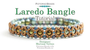 How to Bead / Videos Sorted by Beads / Potomac Crystal Videos / Laredo Bangle Tutorial