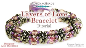 How to Bead Jewelry / Videos Sorted by Beads / SuperDuo & MiniDuo Videos / Layers of Love Tutorial