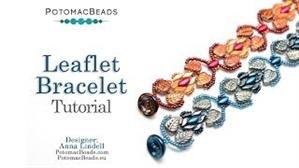How to Bead / Videos Sorted by Beads / IrisDuo® Bead Videos / Leaflet Bracelet Tutorial
