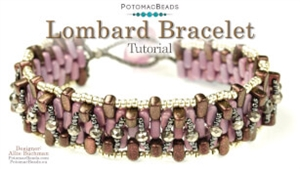 How to Bead / Videos Sorted by Beads / Potomac Crystal Videos / Lombard Bracelet Tutorial
