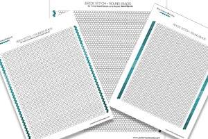 How to Bead Jewelry / Free How to Bead Graph Paper Downloads