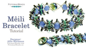 How to Bead Jewelry / Videos Sorted by Beads / CzechMates Bead Videos / Meili Bracelet Tutorial