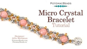 How to Bead Jewelry / Videos Sorted by Beads / Potomac Crystal Videos / Micro Crystal Bracelet Tutorial