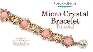 How to Bead / Videos Sorted by Beads / Gemstone Videos / Micro Crystal Bracelet Tutorial