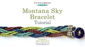 How to Bead / Videos Sorted by Beads / Seed Bead Only Videos / Montana Sky Bracelet Tutorial