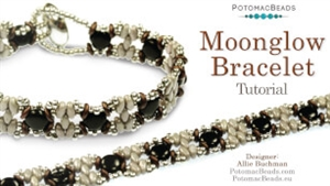 How to Bead Jewelry / Videos Sorted by Beads / SuperDuo & MiniDuo Videos / Moonglow Bracelet Tutorial